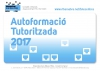 Autoformació tutoritzada 2017, al Punt TIC de la Ribera d'Ebre