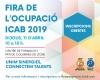 Cartell de la Fira de l'Ocupació de l'ICAB 2019