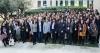 El 7 de febrer les dones que participen en '100tífiques' es van trobar a Barcelona