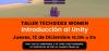 Cartell del taller d'introducció a l'Unity